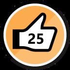 25th Kudo Received