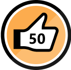 50 Kudos Received