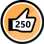 250 Kudos Received