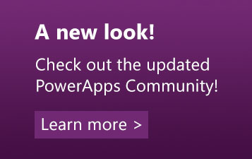 PowerApps Launch