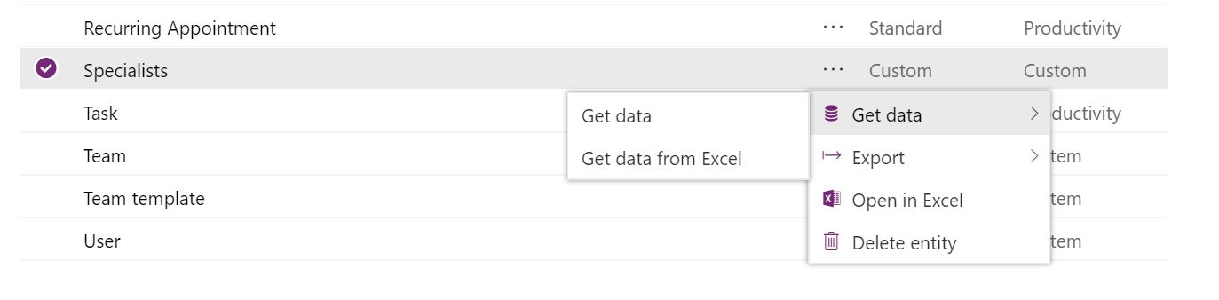 PowerApps Error - GetData -> Get Data from Excel - Power Platform