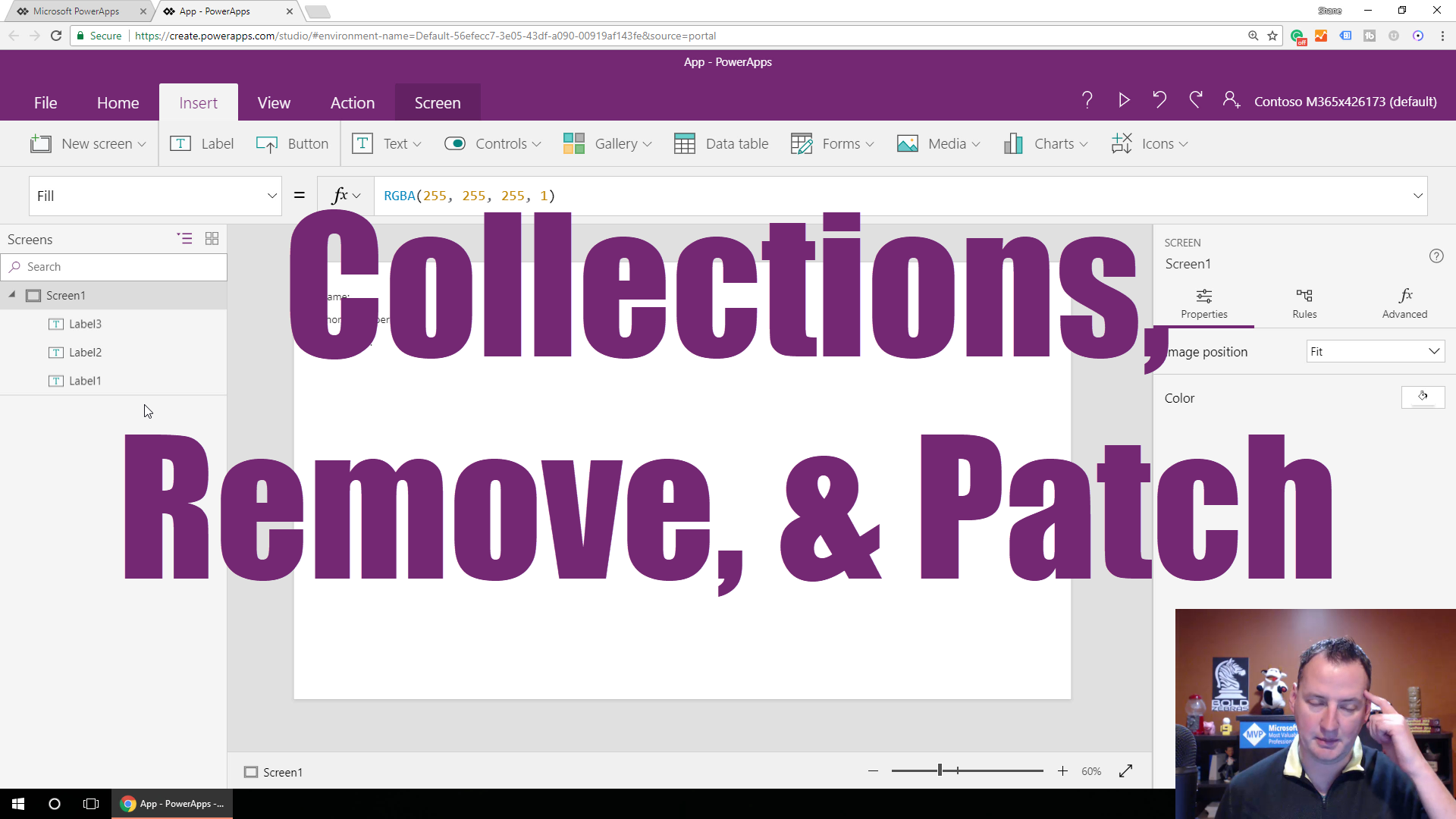 Learn about PowerApps Collections