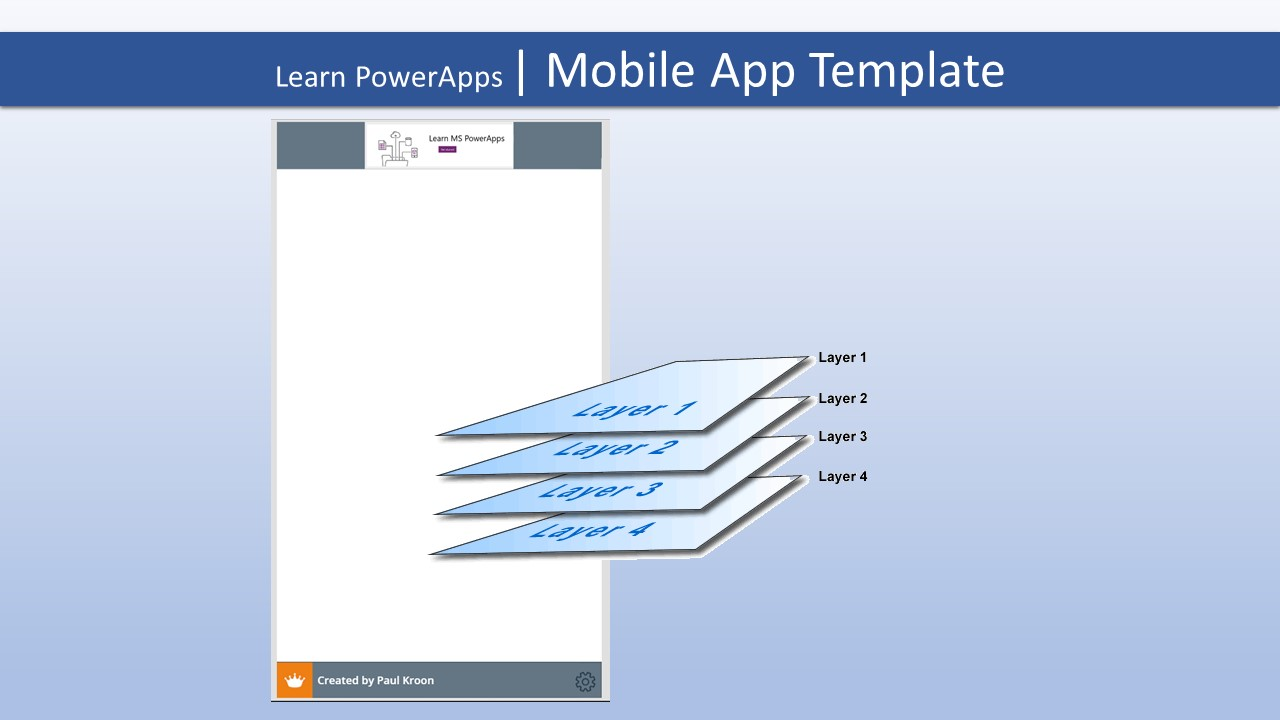 Learn PowerApps | 14 | Mobile App Template - part 1