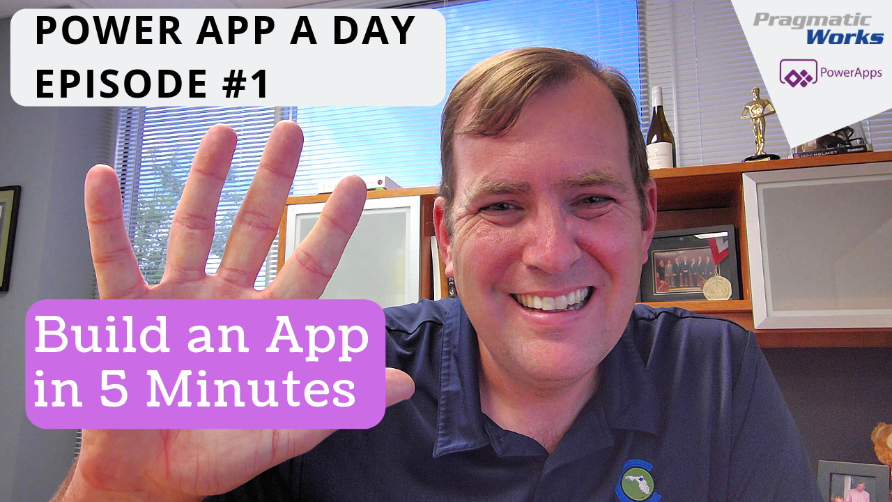 PowerApp A Day Intro - Building an App in 5 Minutes
