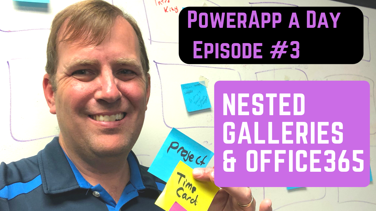 PowerApp Nested Galleries and the Office365 User Functions