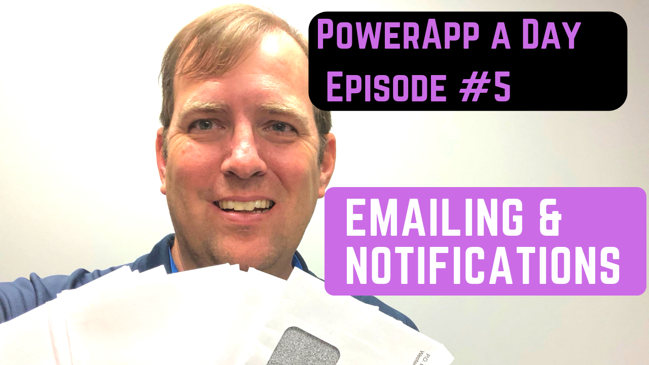 Push Notifications and Emails from PowerApps