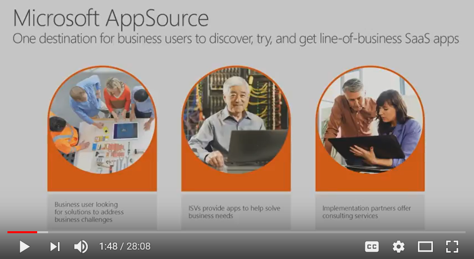Learn how to deliver a compelling test drive experience on Microsoft AppSource - BRK2295