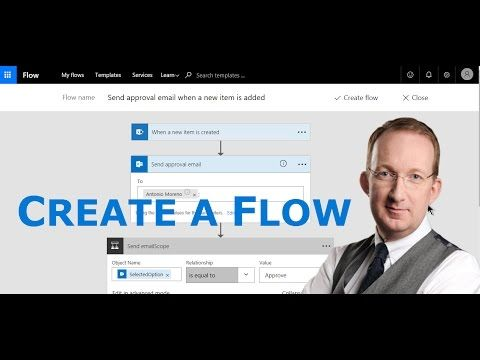 [Fan Video] Create Your First Microsoft Flow