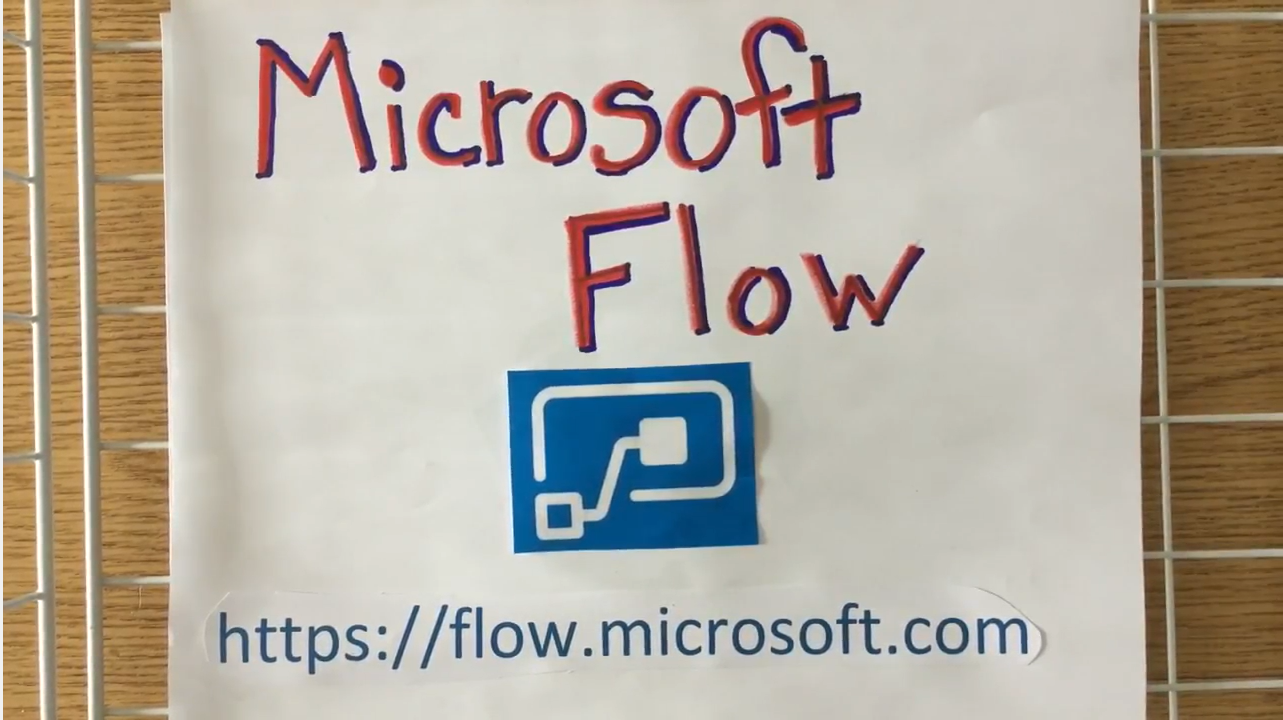 [Fan Video] How to use Microsoft Flow - for teachers