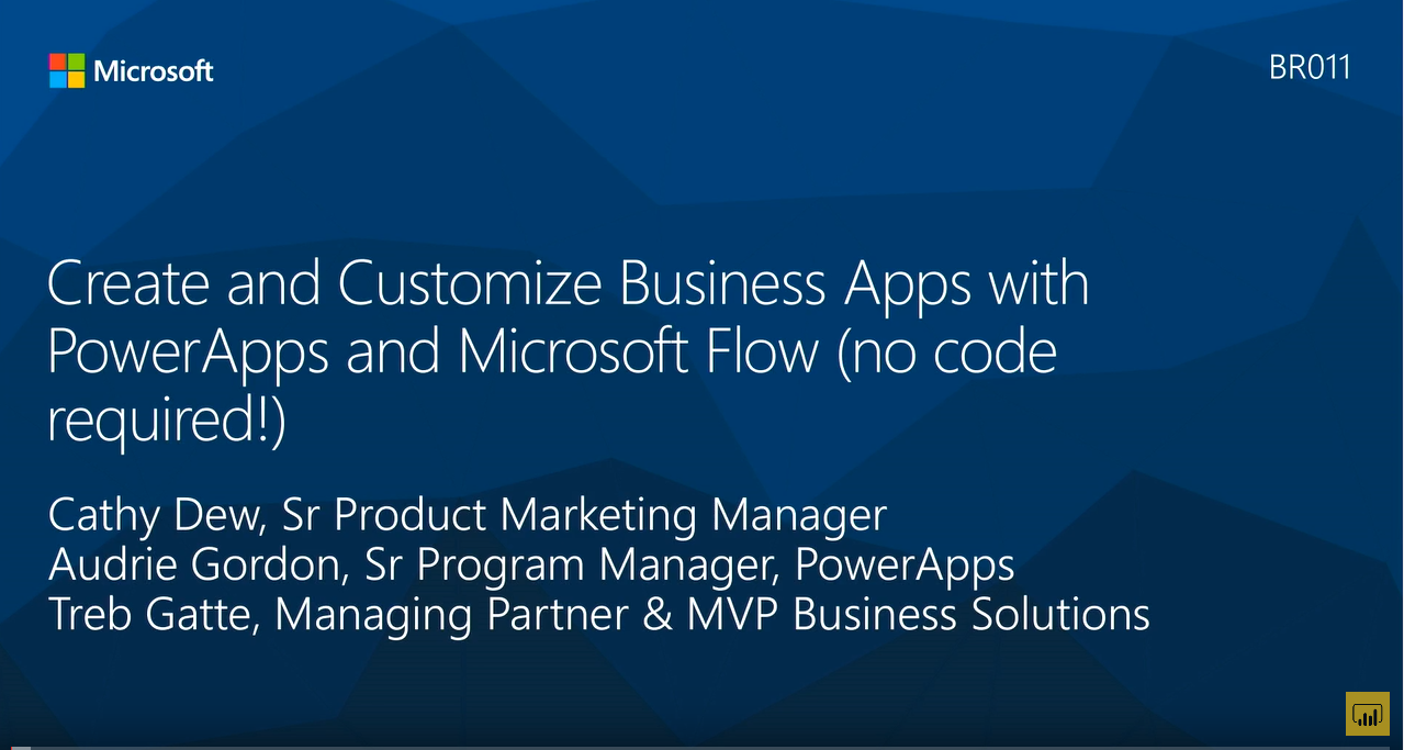 Create and Customize Business Apps with PowerApps and Microsoft Flow