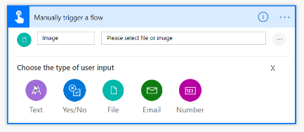 How to Create a Flow Button and Use the New Email, Yes/No, and Image Inputs