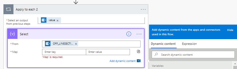 """dynamic content available in """"regular mode"""""""