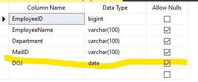 DOJ in SQL Server
