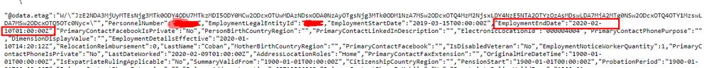 "EmploymentEndDate"":""2020-02-10T01:00:00Z"