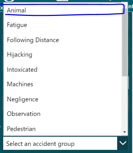 Accident not greyed out on the dropdown.PNG