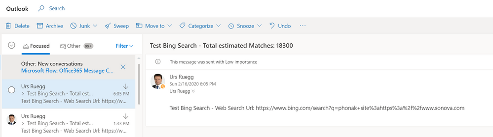Bing Web Search API with Power Automate Part 2 - Outlook.PNG