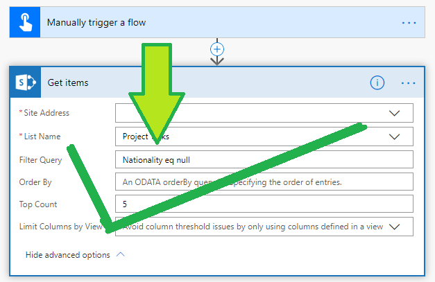 Check for empty or null value ODATA filter Get items 4.png