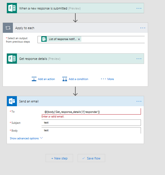 Solved Use The Microsoft Form S Dynamic Content Outside O Power Platform Community