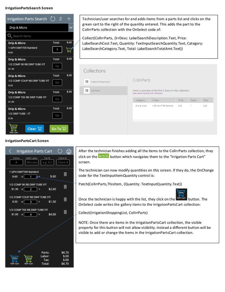 PowerAppIrrigationPartsCartIssue1.jpg