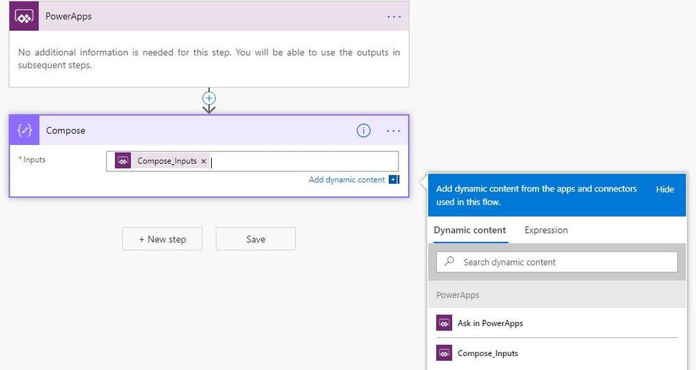 Configure your flow as above screenshot