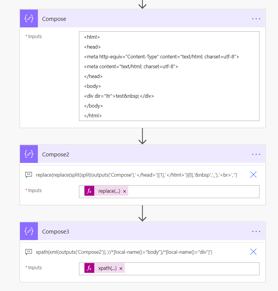 Solved Xpath with Outlook email body   Power Platform Community