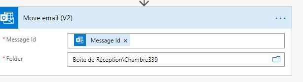 Value without selecting the folder with browing icon