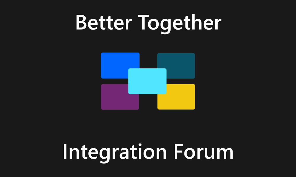 'Better Together' Integration Forum Launch