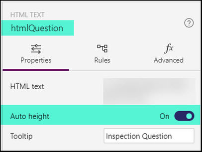 htmlQuestion Auto Height