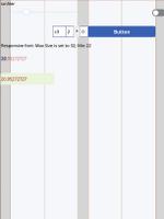 Fluid grid in sample app