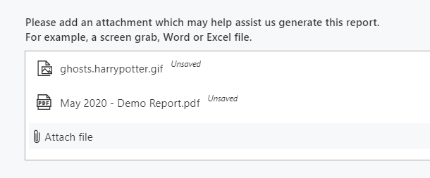 Uploading an image and a document at the same time