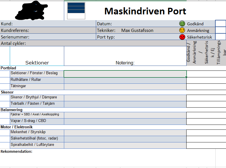 Excel file (In Swedish but you get the idea of the layout)