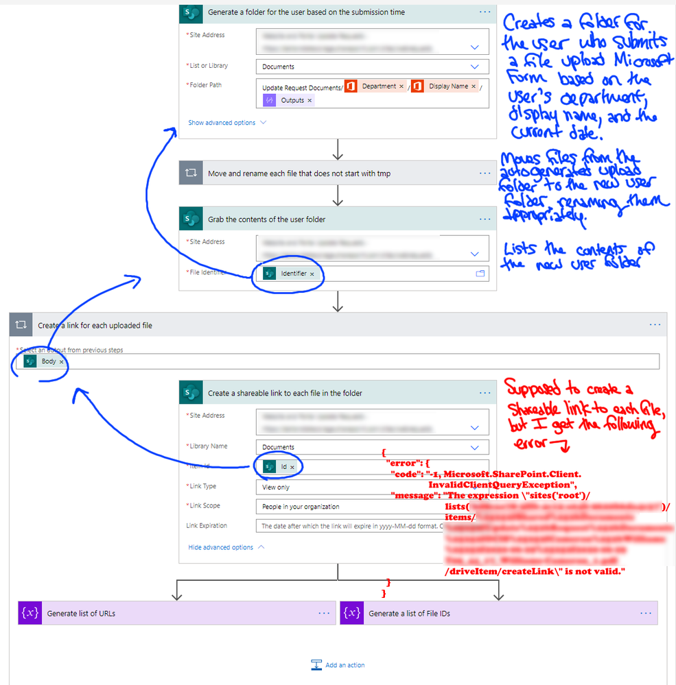 Power Automate Shareable Link Issue.png