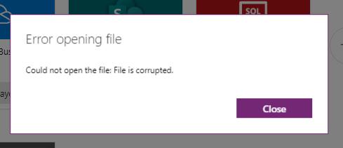 powerapp opening error.PNG