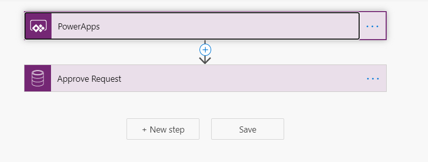 Create a flow with trigger as powerApps