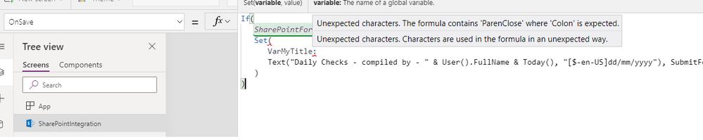 var config/errors