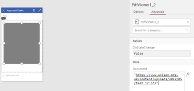 PDF viewer grey control