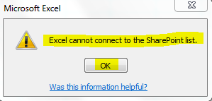 cannot excel data sharepoint.PNG