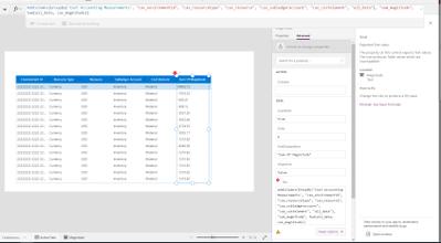 Screenshot for sum function