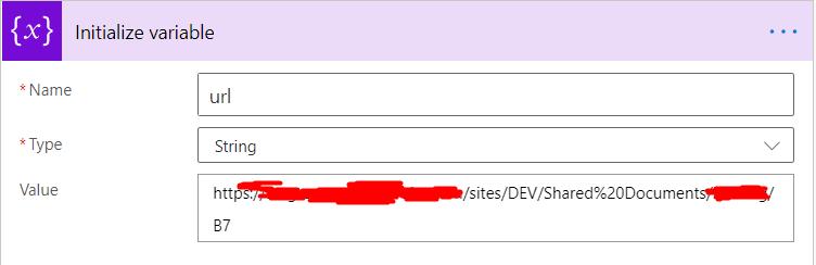 Folder URL
