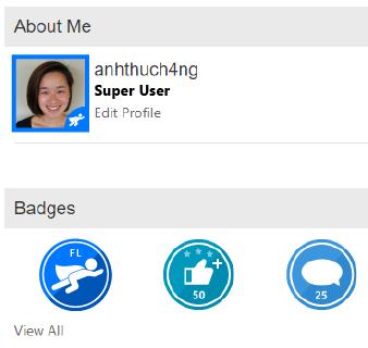 Example Super User Flownaut profile