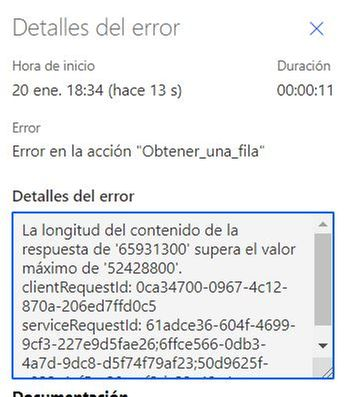 This is the errror after executing it with the new Status file with 22MB
