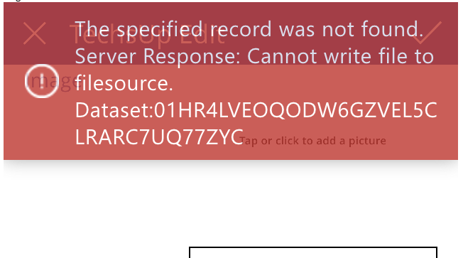 Error Cannot write file to filesource.png