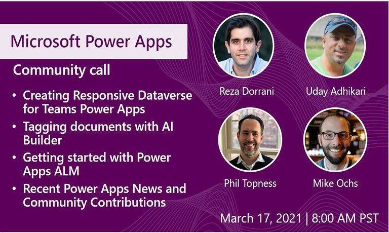 Power Apps Community Call