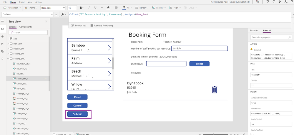 PowerApp Booking 4 submit code.png