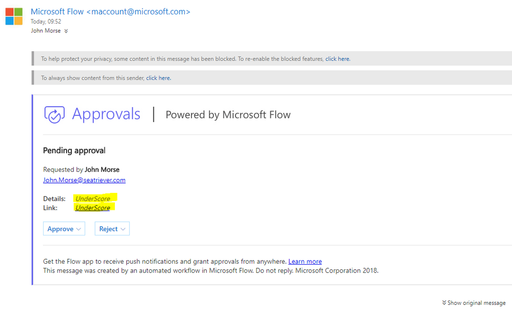 Outlook online (highlighted yellow)