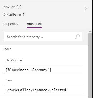 Display DetailForm1