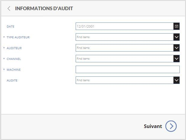 Database informations