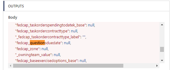 JSON data after save the field (default no data)