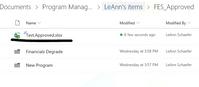 File in Main Folder