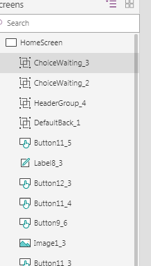 No access to grouped Items